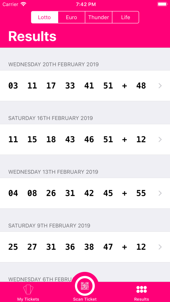 Lotto Lens – The UK National Lottery Ticket Scanner – John Mackay